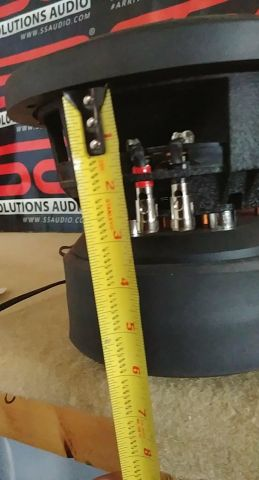 SSA F8L mounting depth