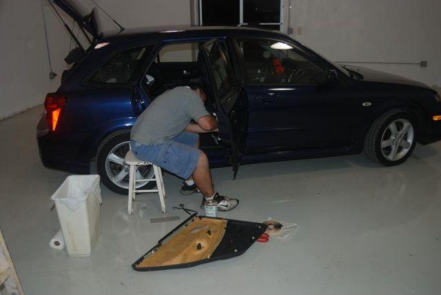 Aaron installing SDS