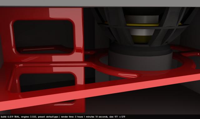 SSA Evil 15 box rendering